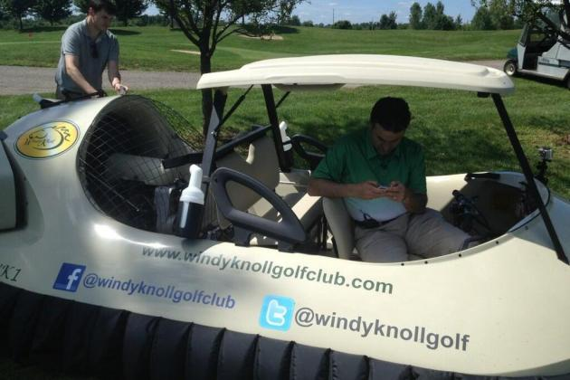 Those Amazing Hovercraft Golf Carts Won't Be as Cool as You Thought