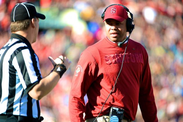 Stanford's David Shaw Says College Football Needs the New Targeting Rule