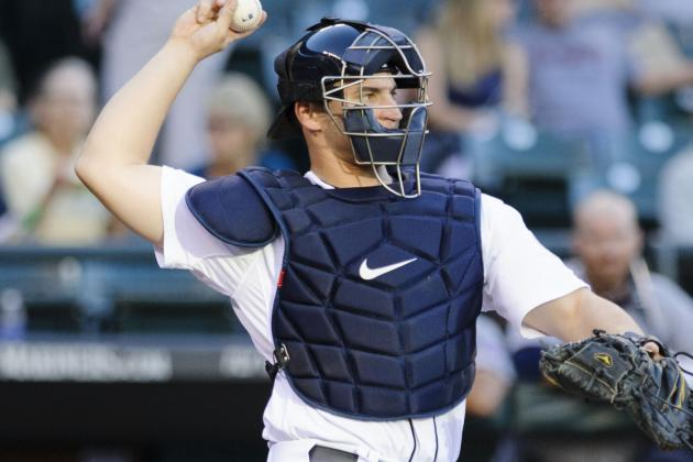 Mike Zunino out Six Weeks with Fractured Hamatebone