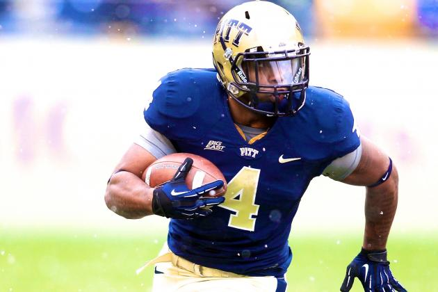 Former Pittsburgh RB Rushel Shell Will Transfer to West Virginia
