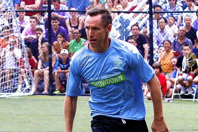 Steve Nash Will Tryout for Serie A's Inter Milan