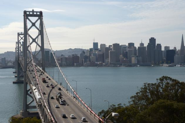 Bay Bridge Shutdown Forces Detour for Angels