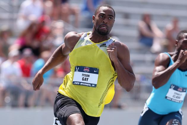 Tyson Gay Reportedly Failed Multiple Drug Tests This Year