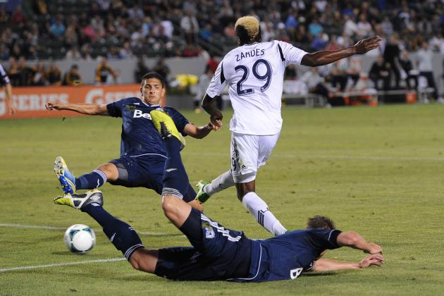 Los Angeles Galaxy's Gyasi Zardes Is Starting to Realize His Potential