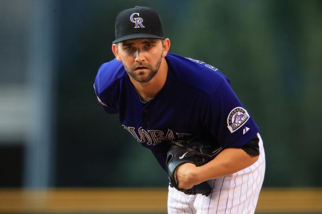 Rockies Rout Brewers as Offense Revives, Chatwood Shines