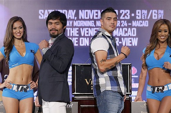 Manny Pacquiao to Fight Brandon Rios in Macau at 10am