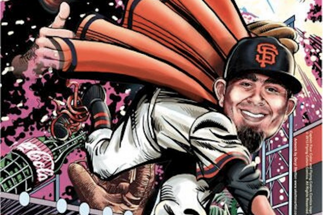 Sergio Romo Is Now a Stan Lee Superhero