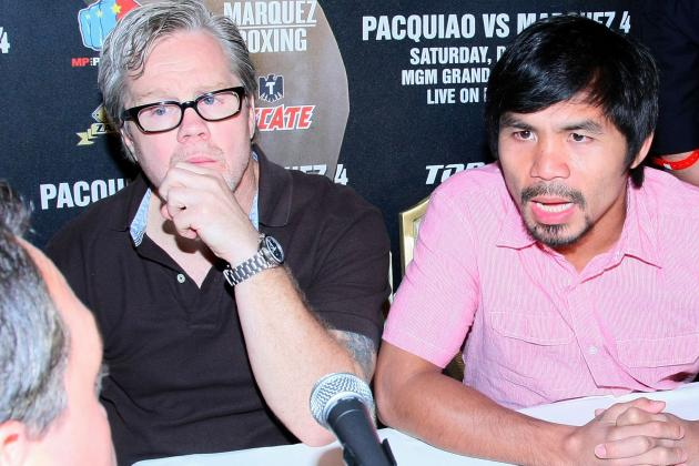 Freddie Roach to Floyd Mayweather: Step Up and Fight Manny Pacquiao Next