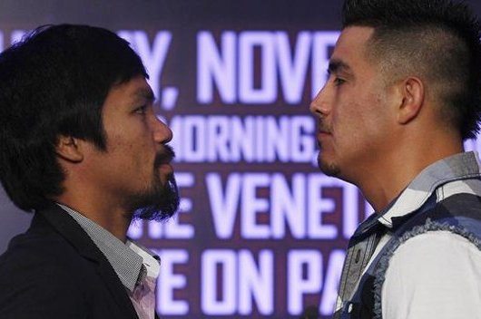 Pacquiao Predicts Toe-to-Toe Battle Against Rios