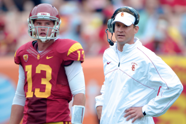Lane Kiffin Will Have Only Himself to Blame by Calling Plays in 2013