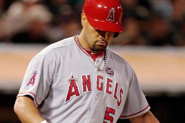 Albert Pujols Leaves Angels to Have Ailing Left Foot Examined