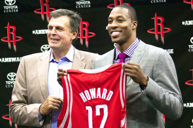 Analyzing How Dwight Howard Will Fit into Houston Rockets Offense