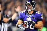Ravens' TE Pitta Done for Year with Fractured Hip...