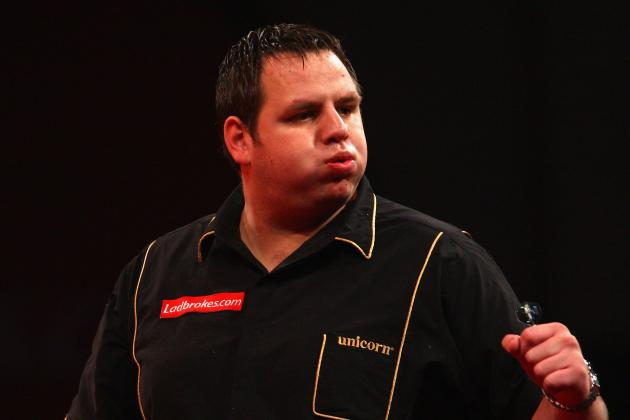 Darts World Matchplay 2013: Adrian Lewis Stands Slim Chance Against World No. 1
