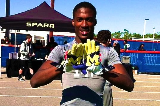 George Campbell to Michigan: Wolverines Land 5-Star 2015 WR Prospect