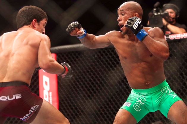 UFC on Fox 8 Live Results, Play-by-Play and Fight Card Highlights