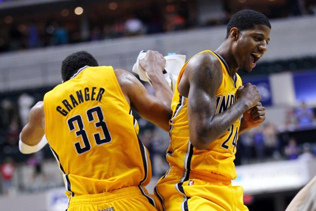 Paul George Says He, Danny Granger Can Play Together Fine
