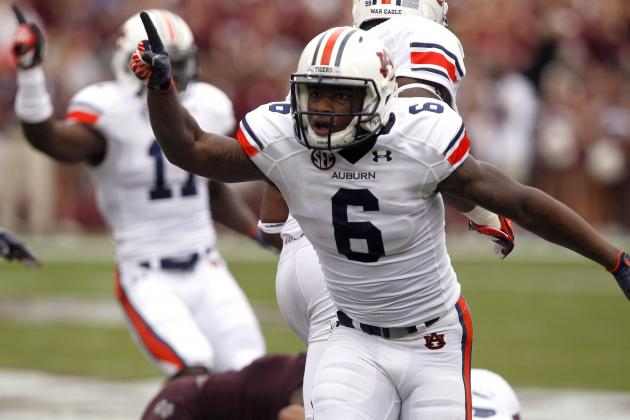 Lack of Interceptions Motivate Auburn Secondary in Offseason