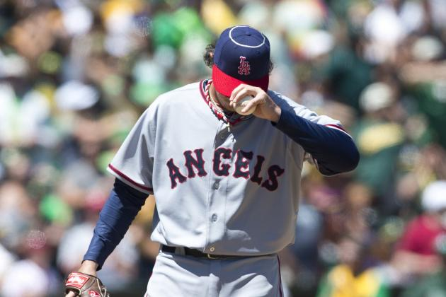 Angels Fall, 3-1, as Athletics Rally Against Scott Downs