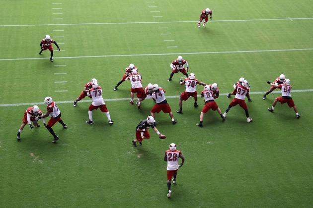 Arizona Cardinals Training Camp 2013: Day 2 Highlights, Lowlights