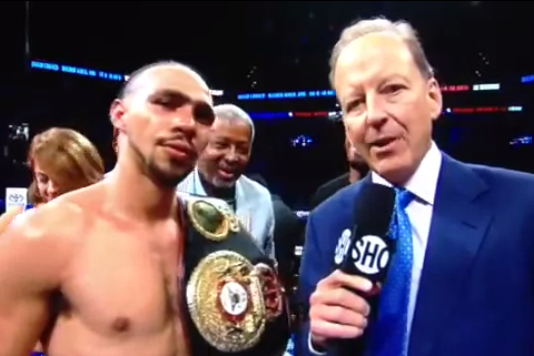 Keith Thurman Thanks Wrong City After Beating Diego Chaves by TKO