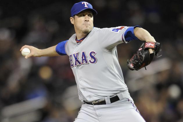 Texas Rangers' Trade Options for Closer Joe Nathan