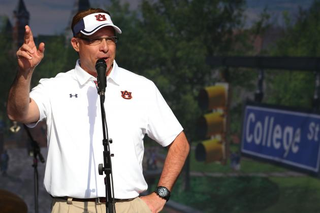 Auburn Looking to Put Disappointing 2012 in the Past