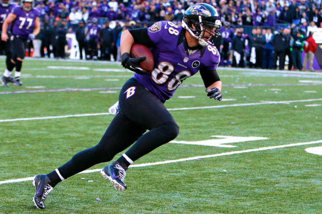 What Dennis Pitta's Season-Ending Hip Injury Means for the Baltimore Ravens