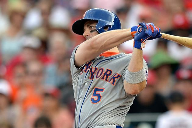 David Wright out of Lineup Today vs. Nationals; Josh Satin at 3B