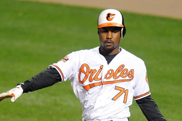 L.J. Hoes Replaces Nate McLouth in Lineup Today vs. Red Sox