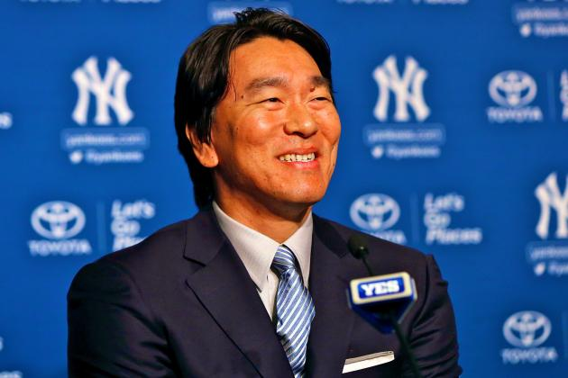Matsui Signs 1-Day Deal, Retires a Yankee