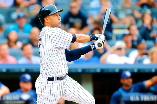 Derek Jeter Returns to New York Yankees Lineup Following DL Stint