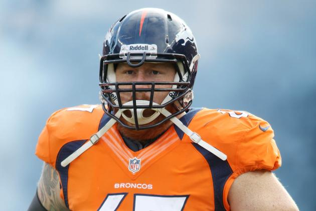 Broncos C Dan Koppen Suffers Knee Injury in Sunday's Practice