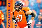 Broncos' Center Koppen Tears ACL in Practice