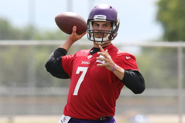 Highlights from the 1st 2 Days of Minnesota Vikings Training Camp