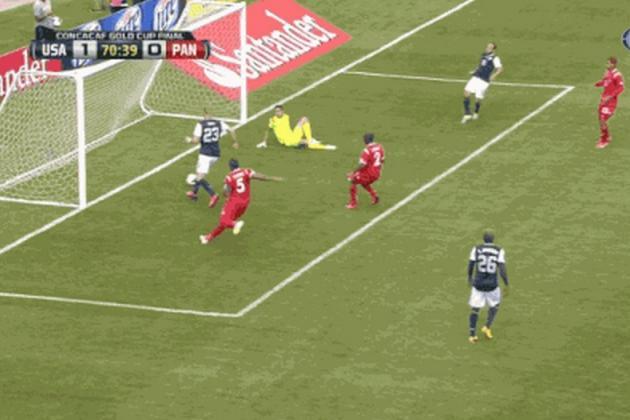 Shea's Gold Cup-Winning Goal