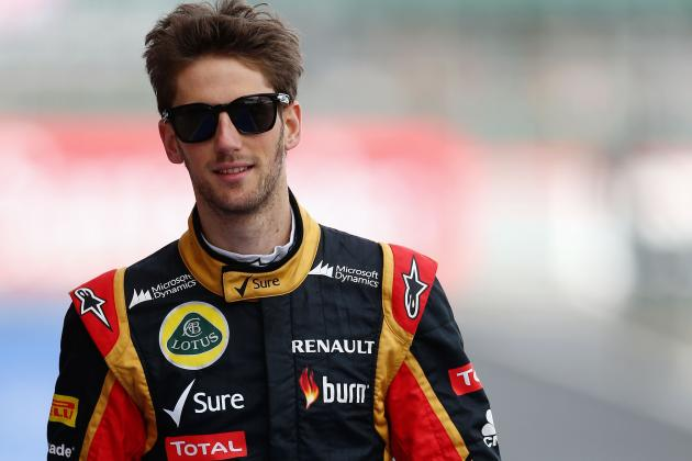 Grosjean Punished for Button Incident