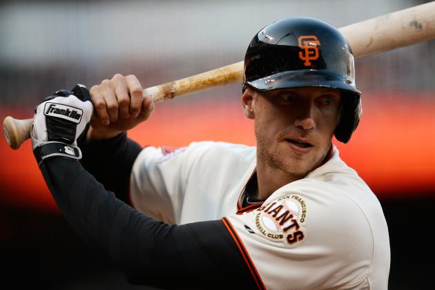 SF Giants Trade Rumors: Hunter Pence for Starting Pitcher Would Be Smart Move