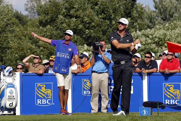 Critical Mistakes Continue to Haunt Dustin Johnson at RBC Canadian Open 2013