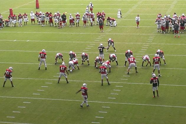Arizona Cardinals Training Camp 2013: Day 3 Highlights, Lowlights
