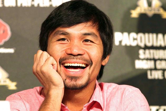 Manny Pacquiao Hints at One Day Running for President in Philippines