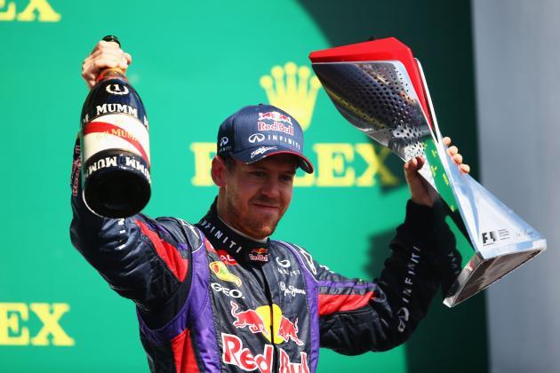 Midseason Report: Grading Sebastian Vettel's Performance