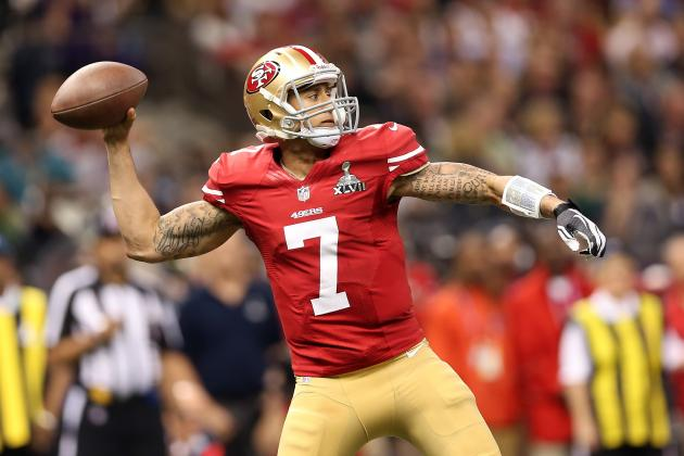 Colin Kaepernick May Become the 1st Quarterback to Achieve a 4,000/1,000 Season
