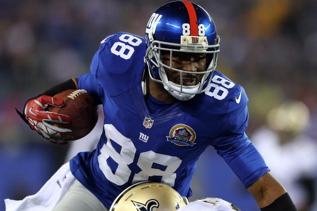 Hakeem Nicks Sits out Drills with Tightness in Groin