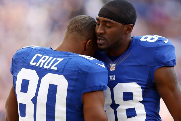 Victor Cruz: Hakeem Nicks Is Giants No. 1 Receiver