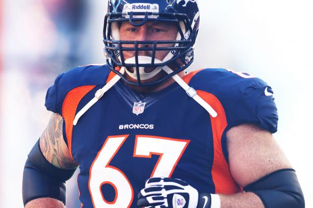 Dan Koppen's Knee Injury Big Blow to Denver Broncos' Offensive Line