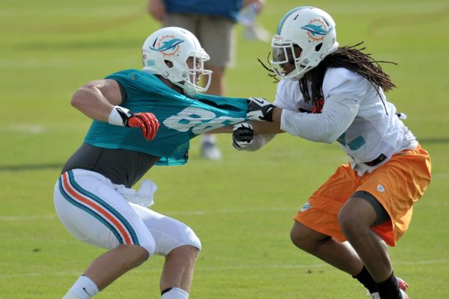 Dolphins Have First Fight of Training Camp