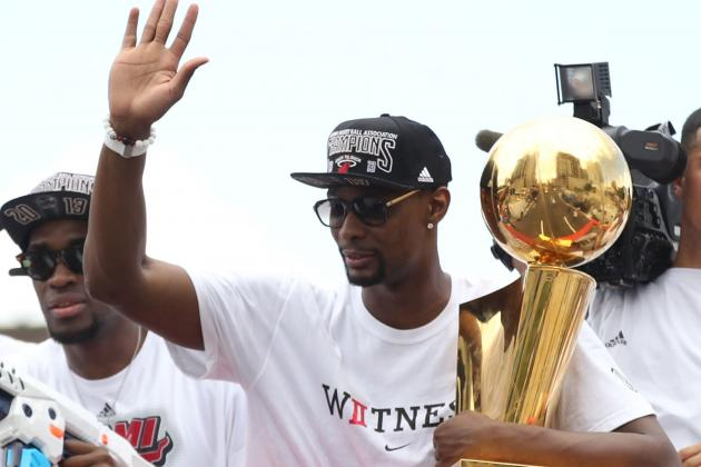 Chris Bosh Wearing a Chef's Hat Is Pretty Awesome