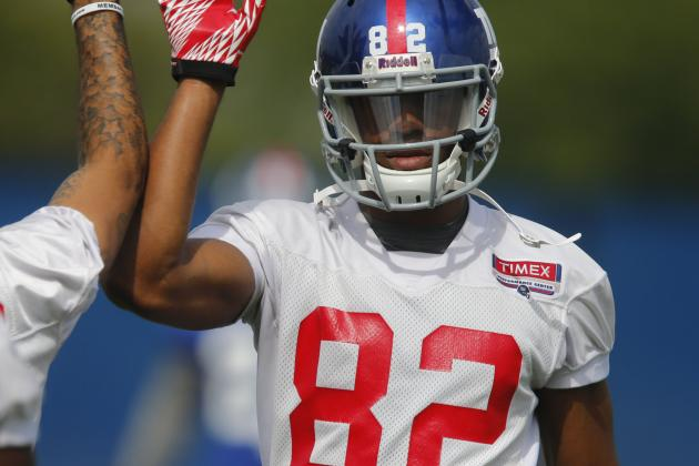 Rueben Randle Working for More Snaps