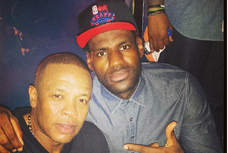 LeBron James & Dr. Dre Chilling in China